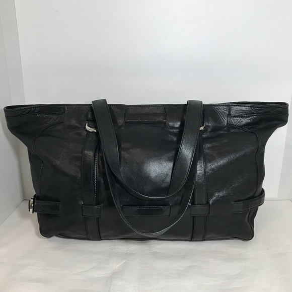 Dkny Handbags - DKNY Black Leather Large Tote Shoulder Bag Purse
